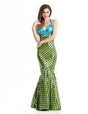 Halloween Adult Sexy Fantasia Mermaid Cosplay Costume for Women Backless Party