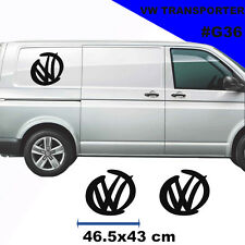 Vw Transporter T4 T5 Racing Large Logo Stickers Decal Tuning Car Graphics