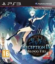 Deception IV: Blood Ties (PS3) BRAND NEW SEALED PAL