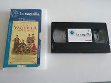LA VAQUILLA VHS COLECCIONISTA EDICION ESPAÑOLA LUIS GARCIA BERLANGA