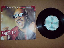 MICHAEL JACKSON AND STEVIE WONDER - 7 INCH - GET IT