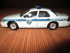 Custom Road Champs 1/43 scale Henderson, NC Police Ford Crown Vic