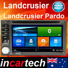 GPS For Toyota LandCruiser 105 100 70 75 80 DVD USB Sat Nav Bluetooth navigation