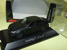 MERCEDES C63 AMG MOPF concept black SCHUCO 1:43