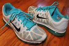 NIKE air max blue sz 7.5 m women's athletic running shoes fitsole
