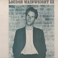 Loudon Wainwright III - S/T 1971 UK Atlantic LP. Ex!