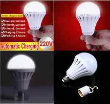 12W E27 LED Intelligent Light Bulbs Emergency Rechargeable Lamps Energy Saving