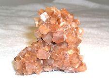 Aragonite crystal cluster all natural bigger red caramel colors 2.5x2.5 inch b89