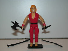 1994 GI JOE STREET FIGHTER MOVIE KEN MASTERS 100% COMPLETE C9+ - HASBRO