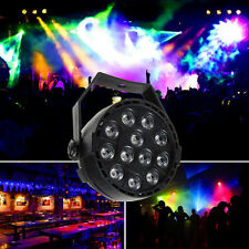RGB 12 LED Stage Light Par 8CH DMX-512 Lighting Laser Projector Party Club DJ US