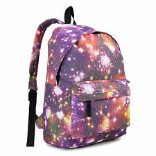 MENS GIRLS BOYS RETRO BACKPACK BAG SCHOOL COLLAGE TRAVEL WORK RUCKSACK