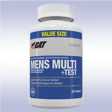 GAT MENS MULTI + TEST (150 TABLETS) multivitamin testosterone booster nitraflex