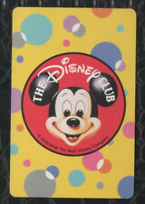 Playing Swap Cards 1 Japanese The Disney Club Mickey Mouse 1980's J88