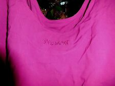Jams World XL NEW NWT Womens Dark Mauve Peony Pink Tank Shell Top W639SL