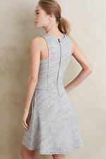 NEW ANTHROPOLOGIE Grey State Ballpark Tennis Day Dress Size L $ 128 Comfy cozy