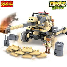 COGO Building Block Military Army Action Remote Cannon #3328 236pcs