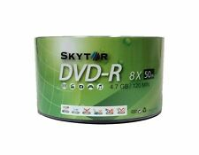 1000 Blank SKYTOR DVD-R DVDR 8X White Top 4.7GB Recordable Media Disc