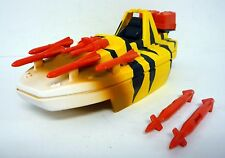 "GI JOE TIGER FORCE TIGER FISH Vintage 8"" Figure Vehicle Speed Boat COMPLETE 1989"