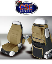 Front Seat Cover Protectors Fits:  Jeep CJ Wrangler YJ TJ  Spice Rugged Ridge