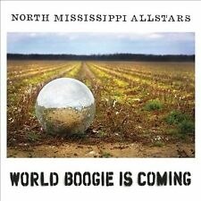 NORTH MISSISSIPPI ALLSTARS ~ World Boogie Is Coming ~ like new, free downloads!