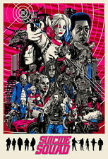 """037 Suicide Squad - 2016 Film Task Force X Movie 14""""x21"""" Poster"""