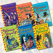 Winnie the Witch Second Collection by Laura Owen - 6  Books Set Pack  New  PB