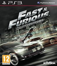 Fast and Furious Showdown (PS3) Brand New & Sealed - UK PAL