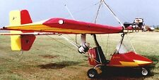 Hy-Tek Hurricane 103 Ultralight Airplane Wood Model Replica Large Free Shipping