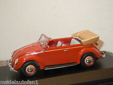 VW Volkswagen Beetle Kafer Kever Cabriolet van Minichamps 1:43 in Box *16145
