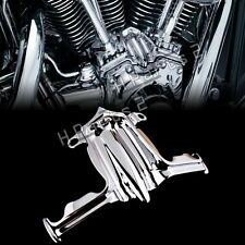Chrome Tappet / Lifter Block Accent Cover for Harley Twin Cam 02-16 Road King