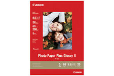 Genuine Canon 8.5x11 20 PP201 glossy photo paper PIXMA MP210 MP140 MP190 iP1800