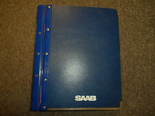 1981 85 87 90 1992 Saab 900 Specification News Technical Data Service Manual SET