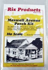 Rix Products - MAXWELL AVENUE PORCH KIT - HO Scale Building Kit 628-0204