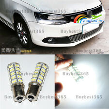 2x White LED DRL Driving Daytime Running Lamp Light For Volkswagen Jetta Mk6