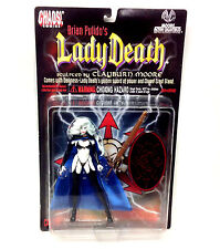 "Chaos Comics Retro 90's Horror LADY DEATH 5"" toy action figure, Pulido"
