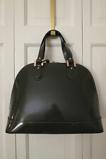 Stylish Alberta di Canio Dark Grey Leather Bugatti Satchel – NWT - $260+