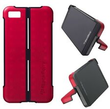 Genuine BlackBerry Z10 RED TRANSFORM SHELL ASY-49530-003 with Screen Protector