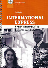Oxford INTERNATIONAL EXPRESS 3rd Ed Upper-Intermediate TEACHER'S Book w DVD @New