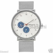 Skagen Original SKW6187 Men's Hald Silver Stainless Steel Mesh Watch 40mm