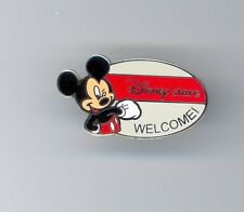 JDS Grand Re-Opening Japan Disney Store Mickey Mouse Welcome LE Pin