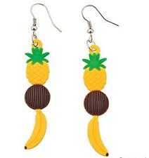 Tropical Fruit Earrings - Fun Rubber Jewelery  - Fun Party Favor