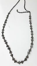 S MAX MARA  Necklace in swarovski and  metal , 100% genuine NEW