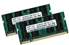 2x 2GB 4GB DDR2 667 Mhz HP-Compaq nc4400 nc6320 Business Ram SO-DIMM Speicher
