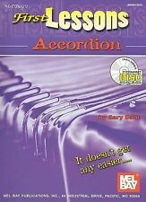 First Lessons Accordion (Mel Bay's) by Gary Dahl with CD -  BRAND-NEW