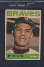 1964 Topps Venezuelan #065 Felipe Alou Braves Poor-Fair *24