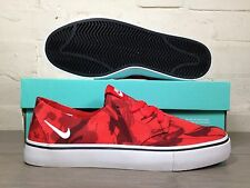 Mens Nike SB Braata LR NF UK Size 5.5 Red White Skateboard Stefan Janoski