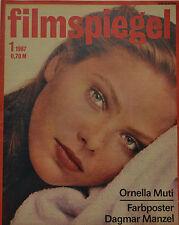 FILMSPIEGEL -  1 / 1987  -  ORNELLA MUTI  (FS 351)