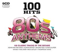 100 HITS-80'S ANTHEMS 5 CD NEU WHAM!/RICK ASTLEY/FIVE STAR/+