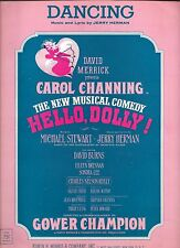 Vintage Sheet Music - Dancing (Hello, Dolly!) 1963