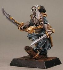 Razig Warlord Reaper Miniatures Undead Pirate Skeleton Zombie Melee Captain